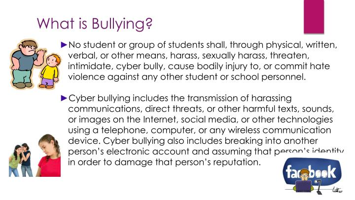 an analysis of bullying in high school Bullying in schools is a major problem in many countries and guyana is no exception recent studies have shown that one in every four students which is equivalent to 22 percent report being bullied during the school year (national center for educational statistics, 2015.