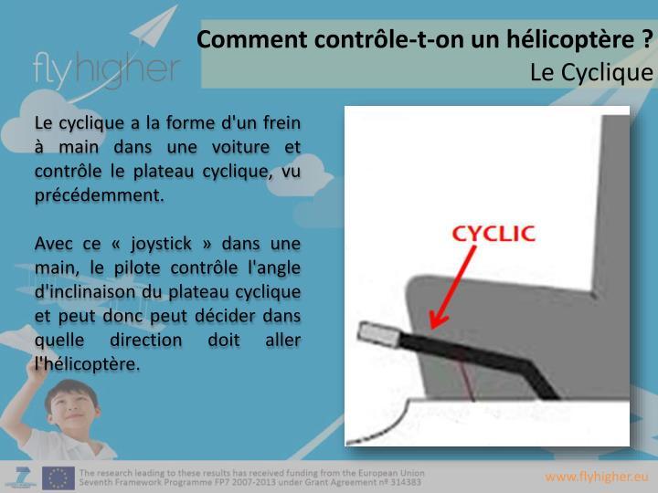 Comment contrôle-t-on un hélicoptère
