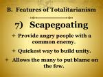 b features of totalitarianism6