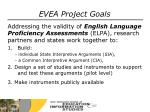 evea project goals