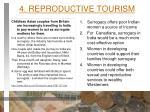 4 reproductive tourism