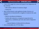 revoluci n americana