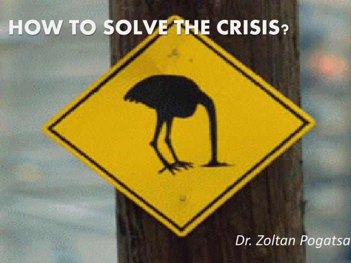 how to solve the crisis n.