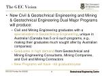 the gec vision