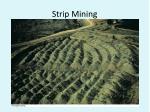 strip mining