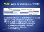 new web based scatter plots1