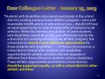 dear colleague letter january 25 2013
