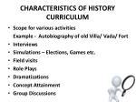 characteristics of history curriculum6