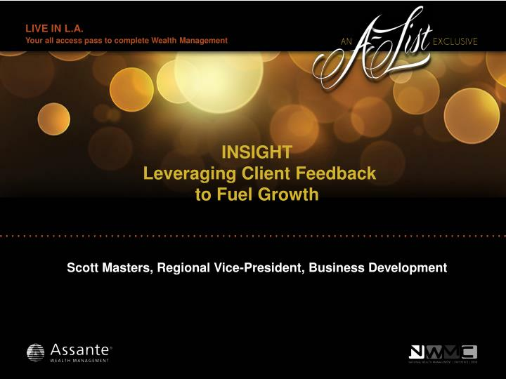 insight leveraging client feedback to fuel growth n.