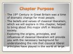 chapter purpose