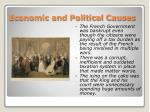 economic and political causes