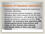 history of classical liberalism1