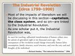 the industrial revolution circa 1750 1900