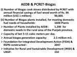 aedb pcret biogas
