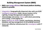 building management system bms