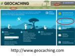 http www geocaching com