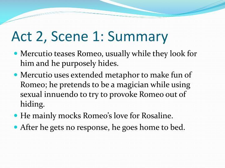 Act 2 Scene 1 Summary