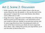 act 2 scene 2 discussion