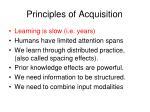 principles of acquisition1