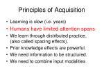 principles of acquisition2