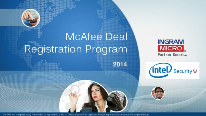 mcafee deal registration program n.