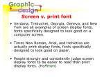 screen v print font