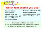 which font should you use2