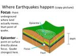 where earthquakes happen copy picture