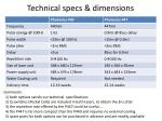 technical specs dimensions