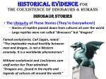 historical evidence for the coexistence of dinosaurs humans dinosaur stories