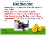 this is the third style of q ellen macarthur