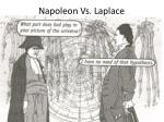 napoleon vs laplace