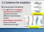5 1 evidence for evolution