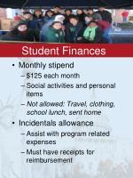 student finances