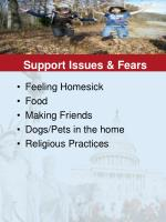 support issues fears