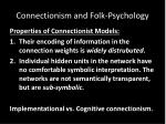 connectionism and folk psychology2
