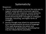 systematicity1