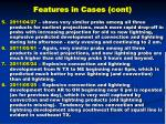 features in cases cont