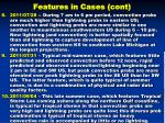 features in cases cont1