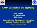 lamp convection and lightning