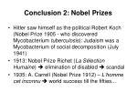 conclusion 2 nobel prizes