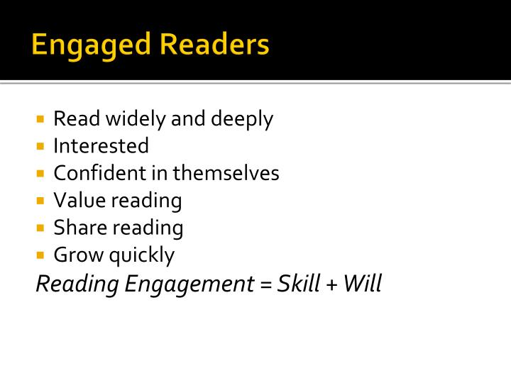 Engaged Readers