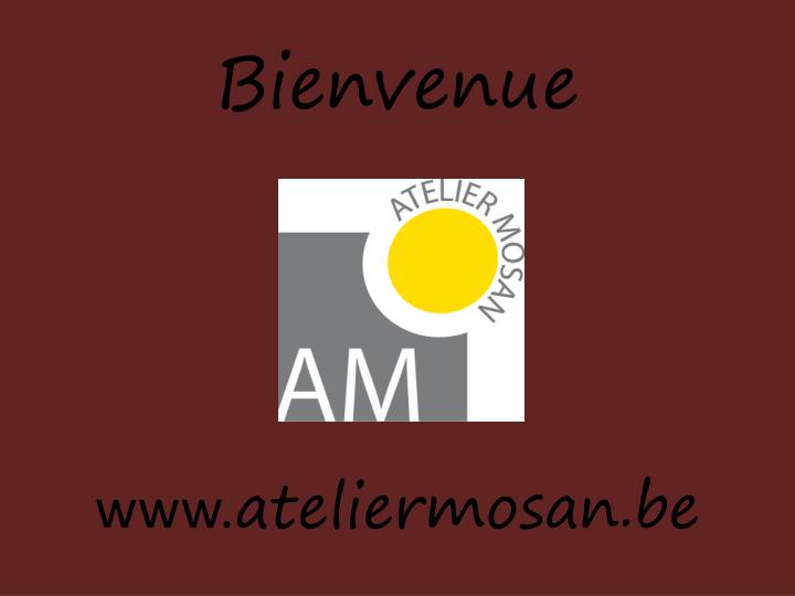 bienvenue www ateliermosan be n.