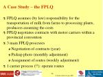 a case study the fplq