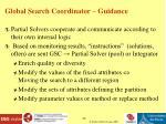 global search coordinator guidance