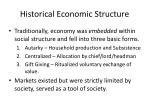 historical economic structure