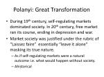 polanyi great transformation