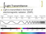 light transmittance