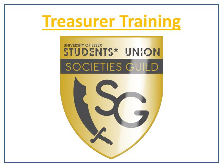 treasurer training n.