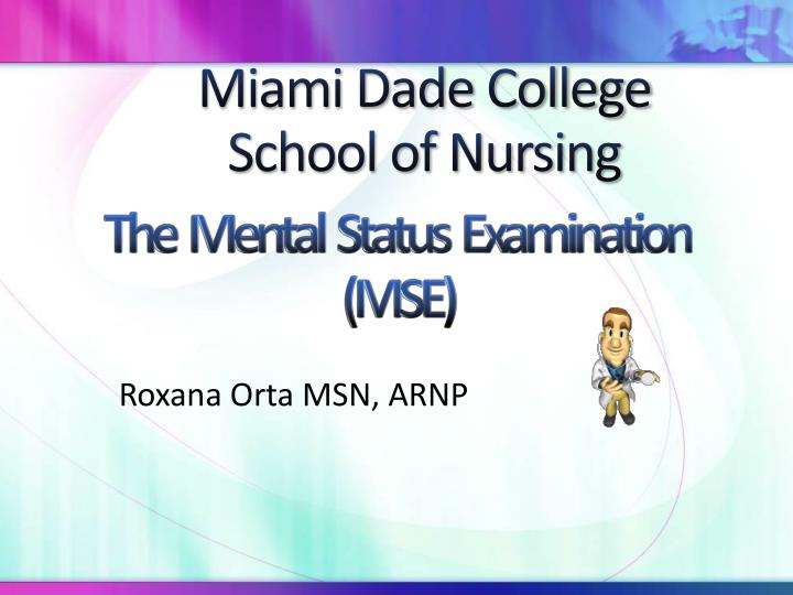 miami dade college school of nursing n.